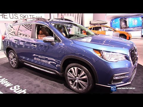 2019 Subaru Ascent Touring - Exterior and Interior Walkaround - 2018 Detroit Auto Show