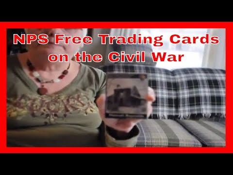 NPS Free Trading Cards on the Civil War