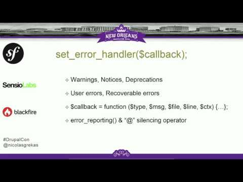 DrupalCon New Orleans 2016: Symfony Debug & VarDumper - Your daily Must-Have