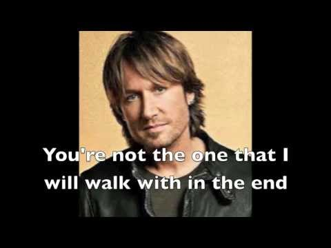 You're Not My God, By Keith Urban Lyric video