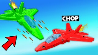 CHEAPEST VS EXPENSIVE FIGHTER PLANE BUILD CHALLENGE
