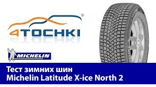 Тест зимних шин Michelin Latitude X-ice North 2-4 точки.Шины и диски 4точки - Wheels & Tyres 4tochki(, 2011-08-19T12:55:01.000Z)