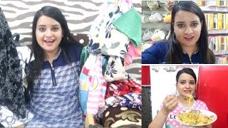 Our First Summer Shopping at Vishal Mega Mart||Failed What I ate in Day