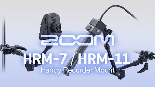 ZOOM HRM-7 / HRM-11 Handy Recorder Mount