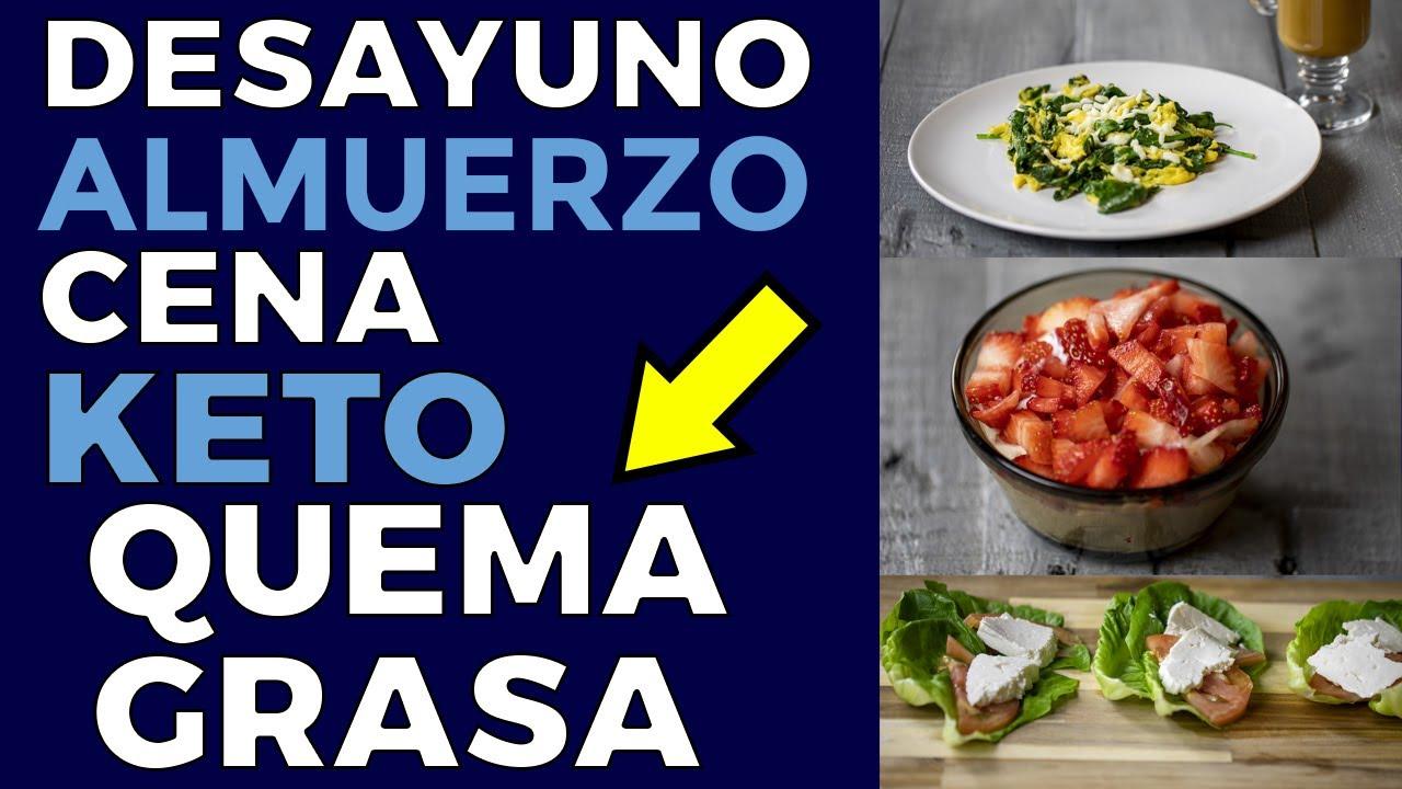 desayuno y almuerzo para perder peso