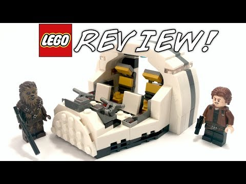 LEGO Star Wars Solo Millennium Falcon Cockpit SDCC Comic Con 2018 exclusive