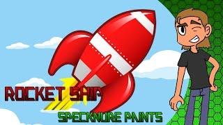 How To Paint a Rocket Ship-Specknure Paints