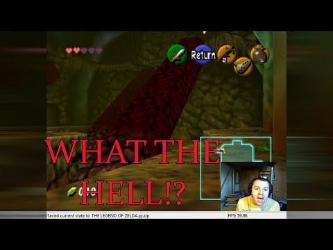 Zelda Ocarina Of Time Chaos Edition ROM Hack - Part 13 SKEWERED CAVERN!
