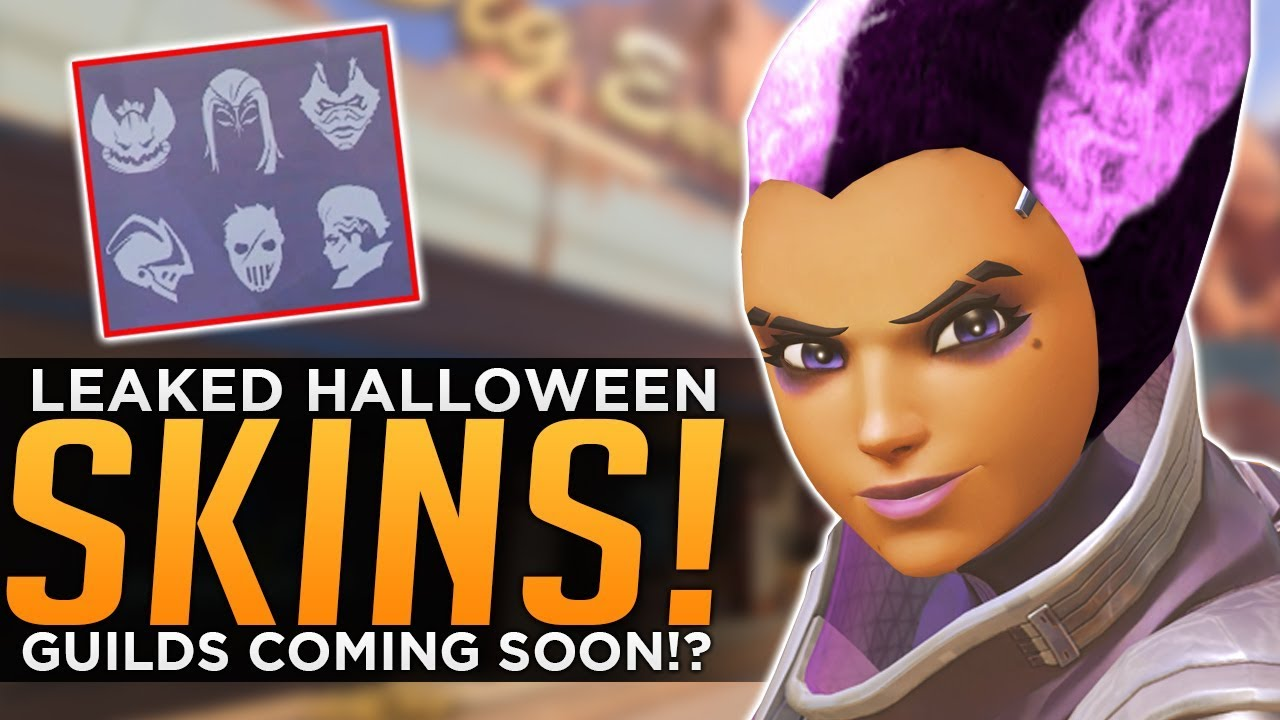 Overwatch Halloween 2020 Achievement Overwatch: Halloween Skin LEAKS!   Guilds Coming Soon?   YouTube