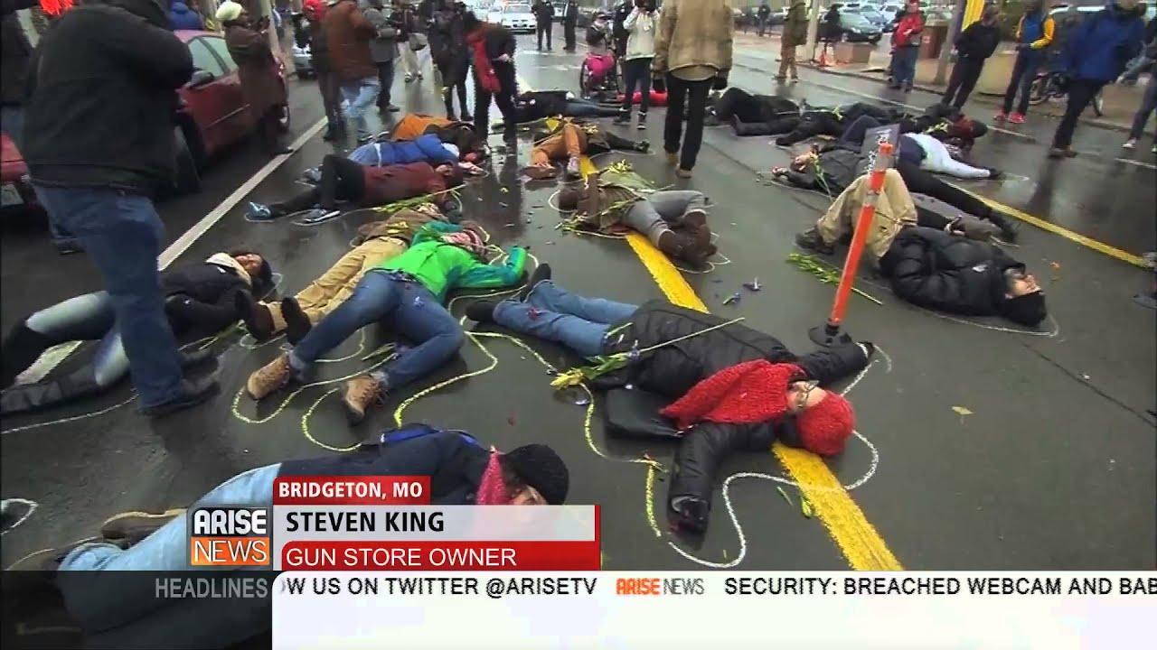 Arise America: Gun Shop Owner & Reverend Debate Ferguson - YouTube