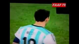 Argentina Vs Belanda 4-2 (adu Finalty) :  semi final Piala Dunia 10 Juli 2014