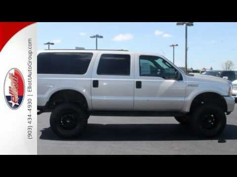2005 ford excursion mt pleasant tx greenville tx f4290b sold youtube. Black Bedroom Furniture Sets. Home Design Ideas