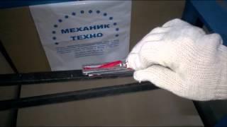 Видео обзор по использованию механического измерителя натяжения ремня Optibelt Optikrik