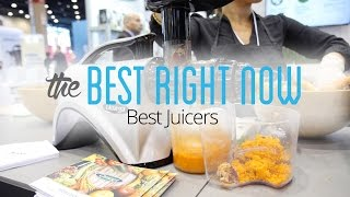 The Best Juicers are the Omega J-8000, Breville BJE200XL, and Gourmia GCJ200