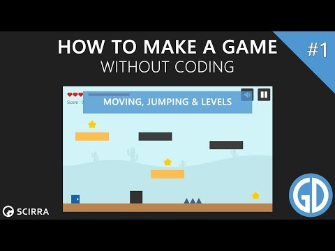 1. How To Make A Game (Moving, Jumping & Levels) Construct 2 Tutorial