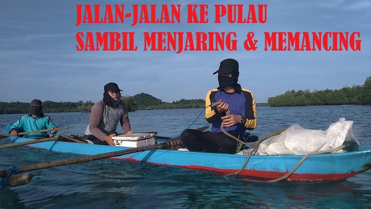 JALAN - JALAN KE PULAU SAMBIL MEMANCING || Pulau Mentawai