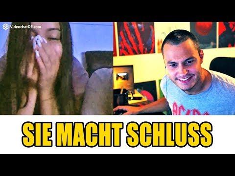 SIE MACHT SCHLUSS MIT MIR | Chatroulette / Omegle Deutsch #148