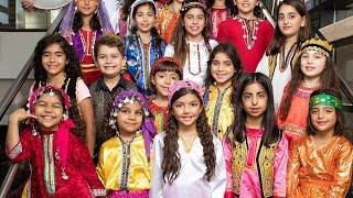 Persian Kids Choir Debut at Persian New Year Festival