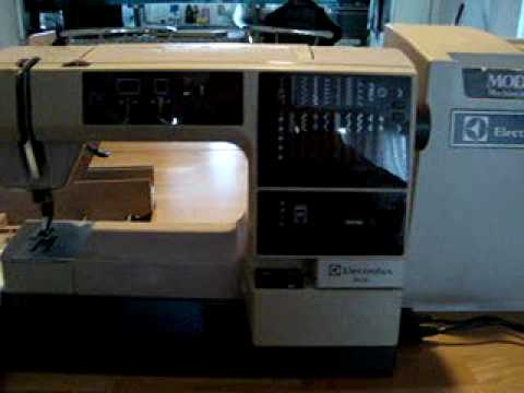 Electrolux 8400 computer controlled sewing machine ca