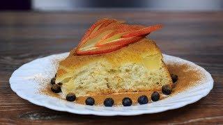 Шарлотка с яблоками — простой классический рецепт в духовке