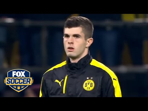Christian Pulisic steps up big time for Dortmund in the Champions League | FOX SOCCER