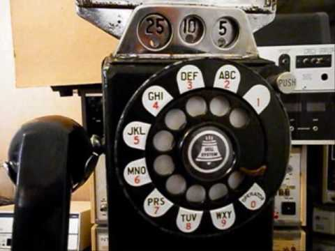 Western Electric 233G 3 Slot Payphone Repair Conversion www.A1-Telephone.com on