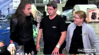 FutureMania Fanstand Peter 'Simon Curtis' Interview SciFi Treffen Speyer 2015 ConReporter