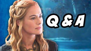 Game Of Thrones Season 5 Episode 7 Q&A - Stabby Sansa Stark