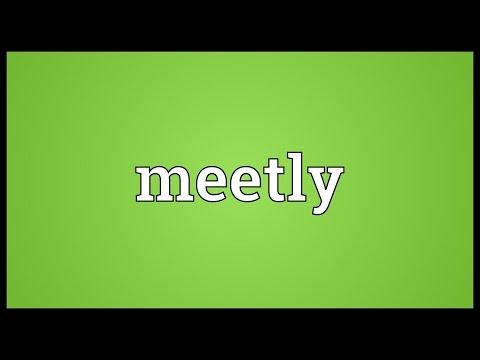 Header of meetly