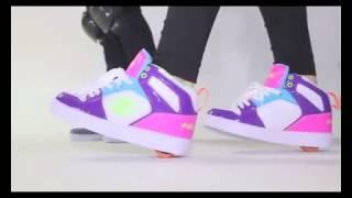 Как научиться кататься на роликах Heelys (другой вариант)