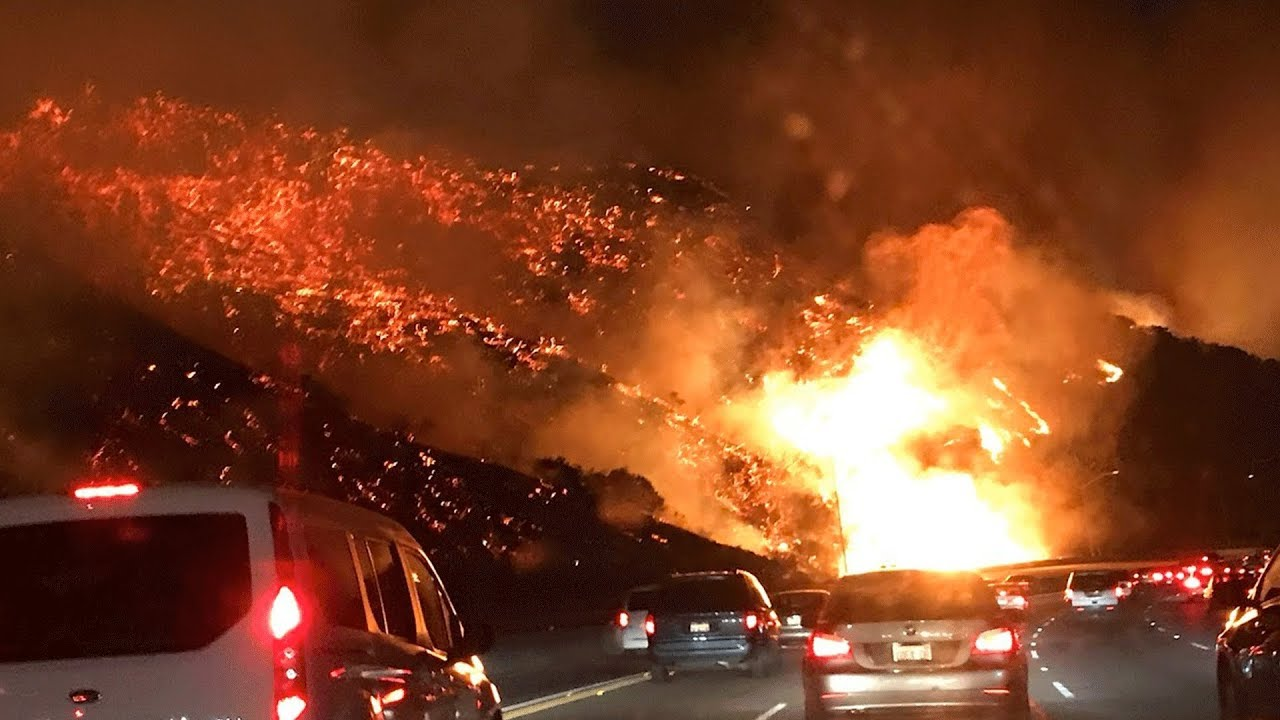 california-fire-scary-footage-damage-caught-on-camera