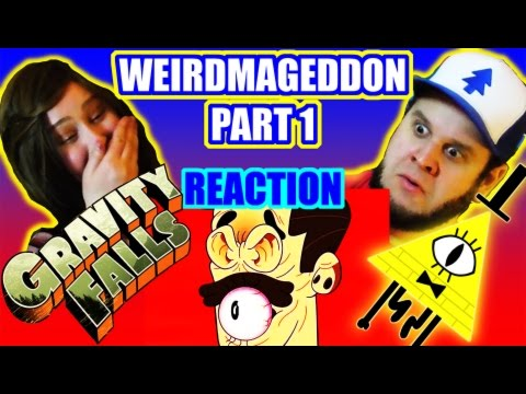 Gravity Falls - Weirdmageddon part 1 - Reaction - Giant Cartoon Show #28 (G F Friday #55)