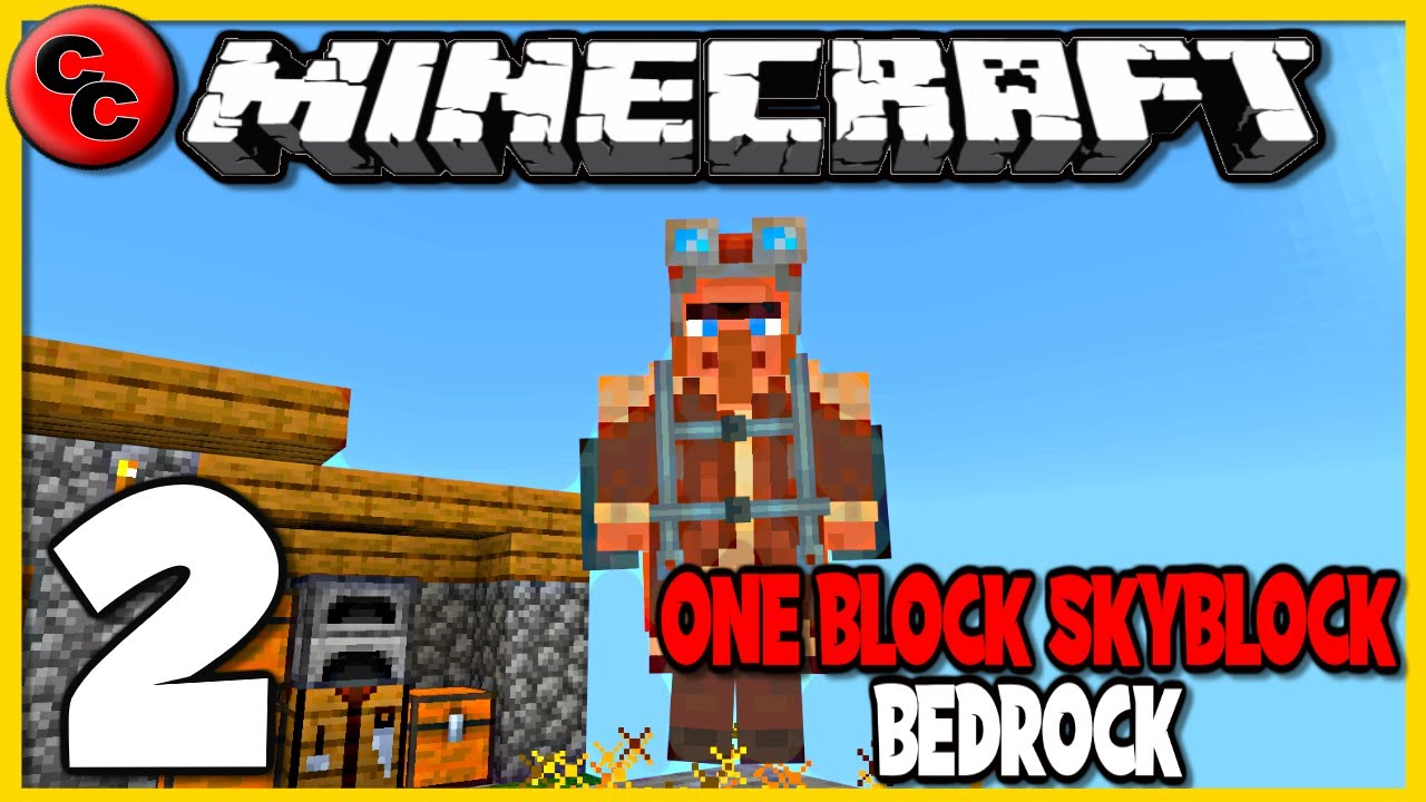 Among us map · 3. Minecraft One Block Skyblock Lets Play Ep2 I Think Its Broken Youtube