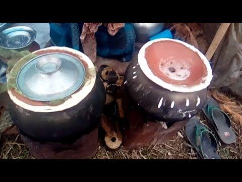 Village style bapa pitha making|Old Man boil Egg selling By@15 tk|Amajing bhapa pitha Making recipe