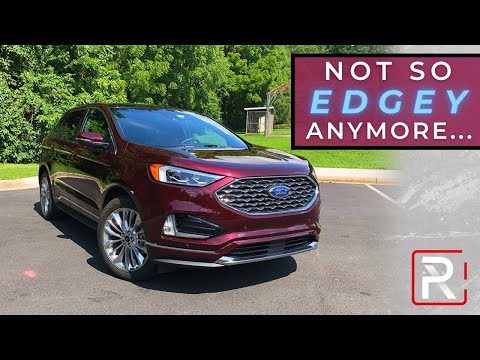 "The 2020 Ford Edge Isn't Quite So ""Edgey"" Anymore"