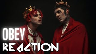 Bring Me The Horizon Obey with YUNGBLUD REACTION | BethRobinson94