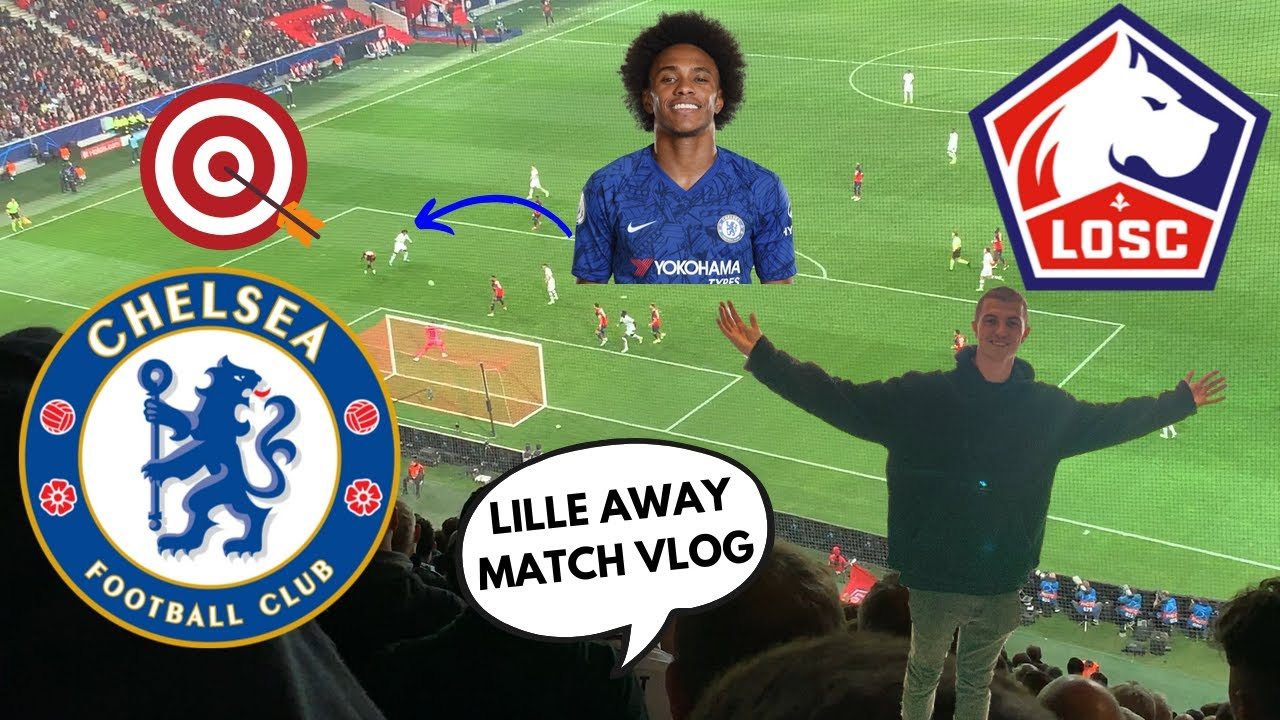 Download INCREDIBLE AWAY WIN! || LILLE vs CHELSEA (1-2) CHAMPIONS LEAGUE AWAY DAY MATCH VLOG