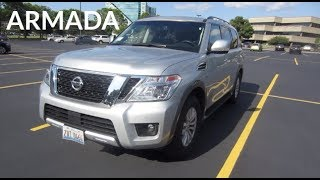 2017 Nissan Armada 5.6L V8 SUV | Enterprise Rental Car Review