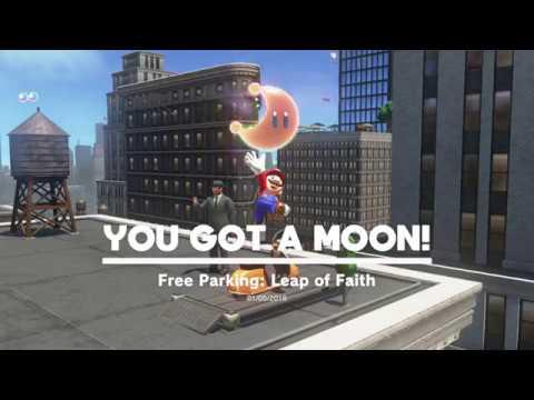 Metro Kingdom - Moon 60: Free Parking Leap Of Faith - Super Mario Odyssey