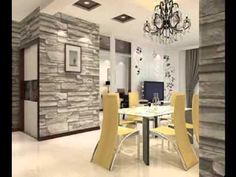 3d room wallpaper decorating ideas youtube for 3d wallpaper for living room india
