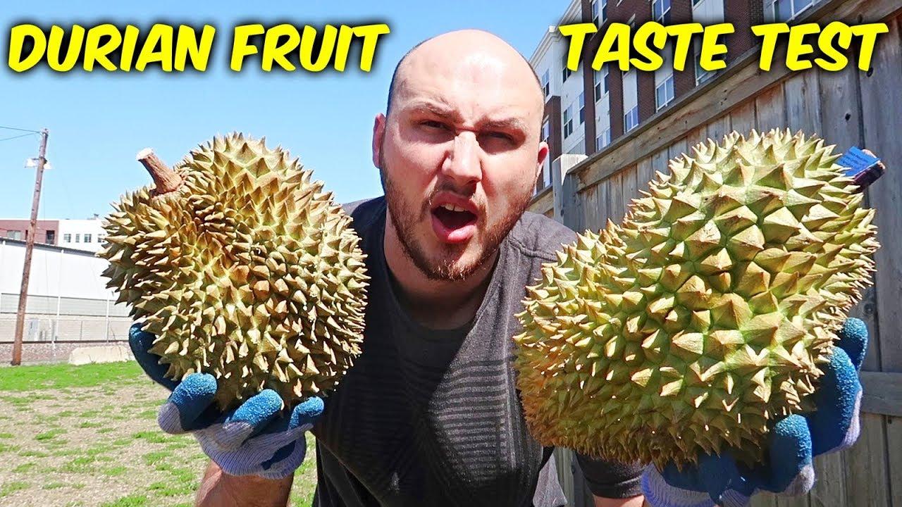 Durian Fruit Taste Test