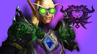Most Relaxing Game Ever - Affliction Warlock PvP WoW Legion 7.2.5