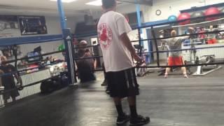 Henry sparring 07 02 2016