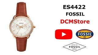 ES4422 Fossil Tailor MultiFunction Terracota Leather ...... DCMStore