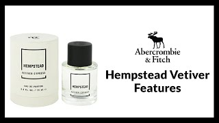 Abercrombie & Fitch Hempstead Vetiver Cypress EDP 2018 Features | EauDeluxe