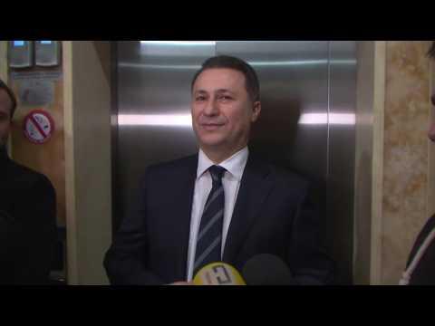 Груевски и се заблагодари на Македонија за гласовите дадени за ВМРО-ДПМНЕ