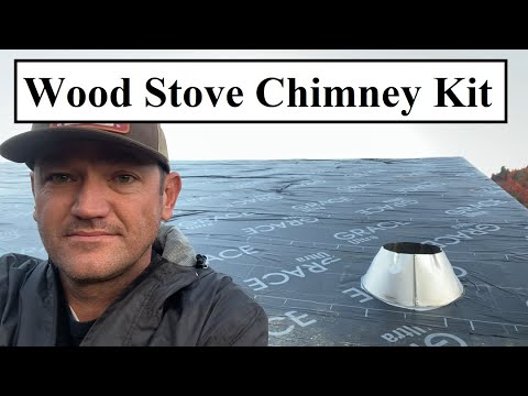#439---shop-build:-wood-stove-chimney-kit,-roof-dried-in,-basement-windows-installed.