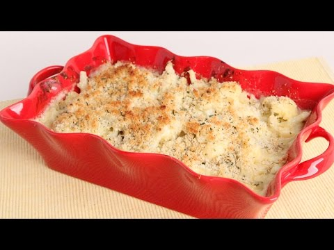 Homemade Cauliflower Gratin Recipe Laura Vitale Laura in the Kitchen Episode 984