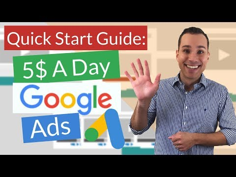 Fast Track Google Ads For Beginners - $5 A Day Google Ads Campaign Strategy