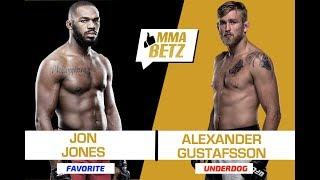 UFC 232: Alexander Gustafsson vs Jon Jones 2 - Speltips
